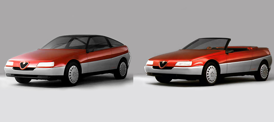 The Thinkers Garage Archive The Development Of Alfas 916 Gtv