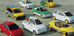 Meet the Fiat Cinquecento's crazy family